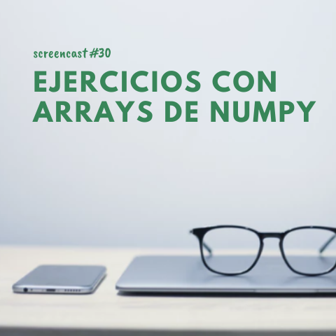 Numpy Arrays Excersices